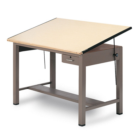 Mayline­® Ranger Series Drafting Table With Tool Drawer