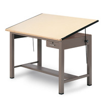 Mayline® Ranger Series Drafting Table With Tool Drawer