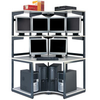 Mayline® E*LAN Series Corner Racking System