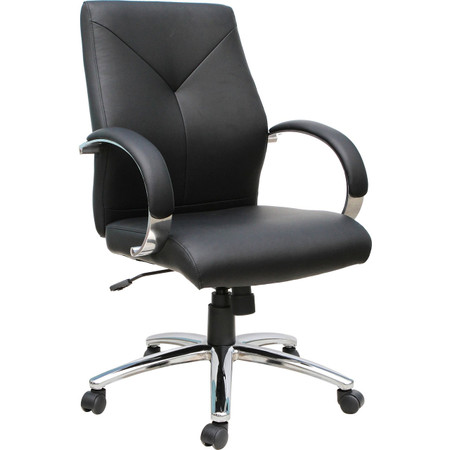 Express Black Vinyl Executive Management Chair