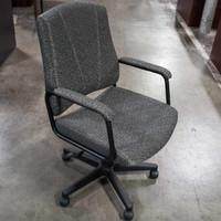 OTG Gray Custom Fabric Task Chair
