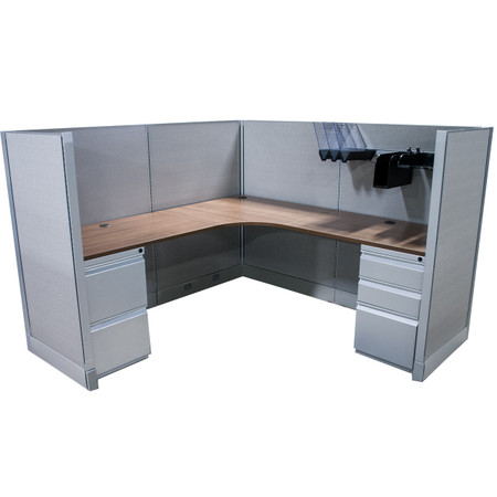 Express Panel Systems 6' x 6' Workstation