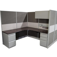 Hon Concentra Two Pack Of 6' x 6' Workstations