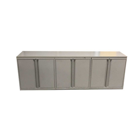 3 Pod Storage Cabinets With Top