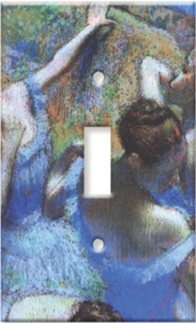 Degas Behind the Scenes Ballet Dancer Single Switchplate Cover