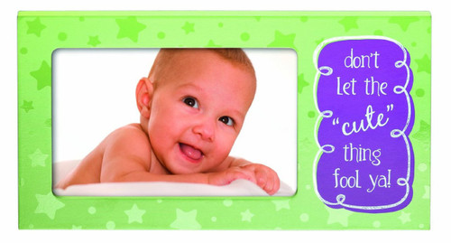 4 x 6 Cute Funny Baby Talk Newborn Infant Picture Frame 8400405