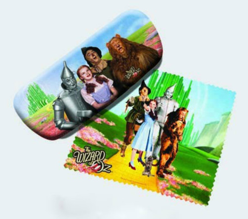 Yellow Brick Road Wizard of Oz Reading Glasses Case and Lens Cloth