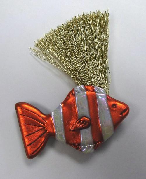 Tropical Ocean Sea Nemo Fish Lover Wild Woman Pin