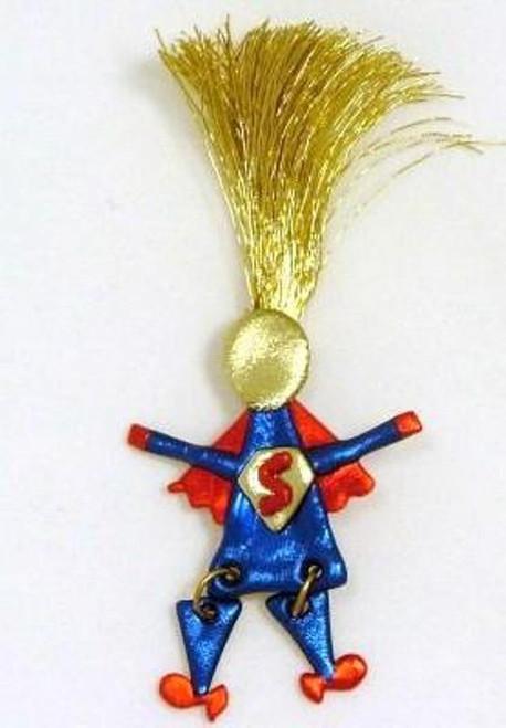 Super Superwoman Mom Wild Woman Pin