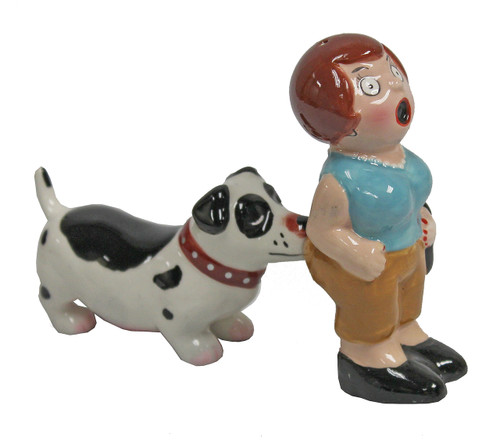 A Lady and a Tramp Magnetic Salt and Pepper Shaket Set
