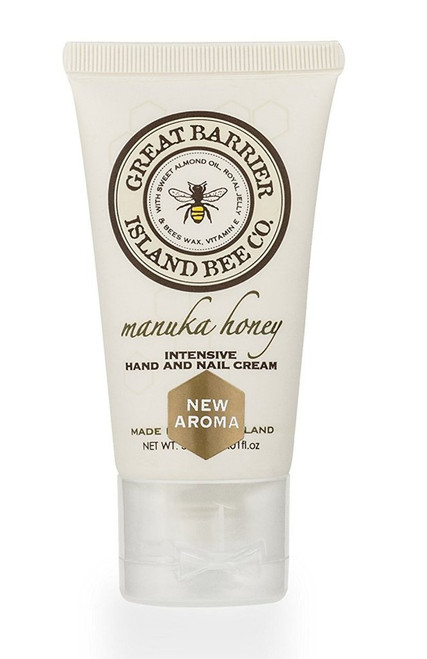 Vanilla Bee Intensive Hand Nail Cream Tube 3.5 Ounce Great Barrier Island Bee Co