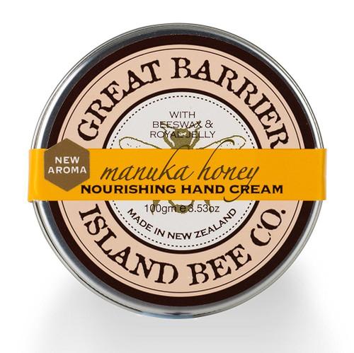 Vanilla Bee Nourishing Hand Cream Pot 3.5 Ounces Great Barrier Island Bee Co