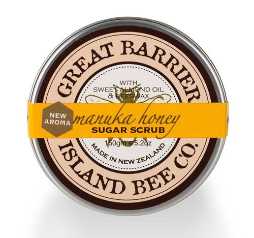 Vanilla Bee Sugar Scrub Pot 5.2 Ounces Great Barrier Island Bee Co