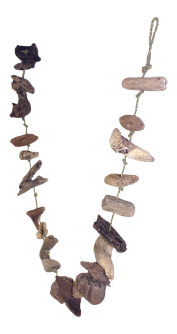 Natural Driftwood and Rope Garland 69 Inch Christmas Holiday Décor