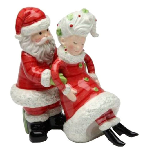 Applause for Mrs. Claus Got Your Back Christmas Salt and Pepper Set
