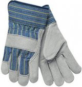 Select Cowhide Palm Work Gloves - 521  ## 521 ##