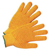 PVC HoneyComb Coated String Knit Gloves  ## 370 ##