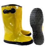 Yellow Durable Slush Boots / Overboots for Construction, Concrete Work, & Other Industrial Applications  ## 800 ##
