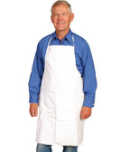 Tyvek® White Aprons - Case of 100 ##14470 ##