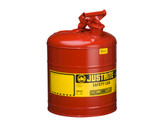 5 Gallon Type I Red Safety Cans  ## 7150100 ##