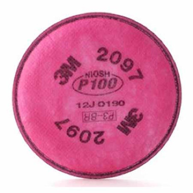 3MR2097 - P100 with Nuisance Level Organic Vapor Particulate Filter  ## 3MR2097 ##