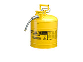 5 Gallon Type II Yellow Safety Cans - For Diesel Fuel  ##7250220 ##