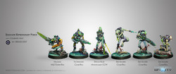 Infinity Shasvastii Expeditionary Force Sectorial Starter Pack - Combined Army