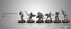 Infinity Bakunin Jurisdictional Command Sectorial Starter Pack - Nomads