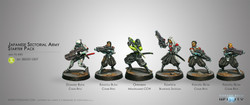 Infinity Japanese Sectorial Army Starter Pack - Yu Jing