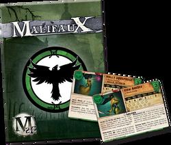 Malifaux Resurrectionists Arsenal Deck  (Wave 2) - M2E