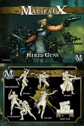 Malifaux Hired Guns (Von Schill Box Set) - Outcasts - M2E