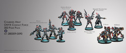 Infinity Combined Army Onyx Contact Force - 300 Point Pack