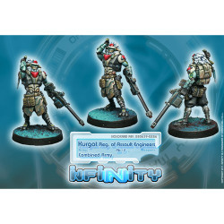Infinity Kurgat Regiment of Assault Engineers (Mk12, D-Charges) - Combined Army