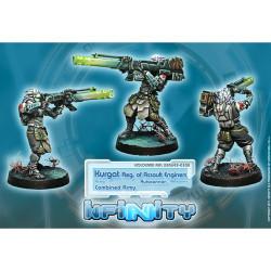 Infinity Kurgat Regiment of Assault Engineers (Autocannon) - Combined Army