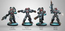 Infinity Rodok, Morat Armed Imposition Detachment - Combined Army