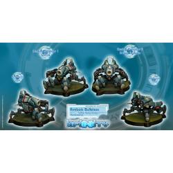 Infnity Armbots Bulleteer Unit Box (Spitfire, Heavy Shotgun) (2) - PanOceania