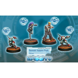 Infinity Nomads Support Pack (4) - Nomads