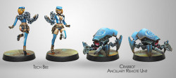 Infinity Tech Bee and Crabbot Ancillary Remote Unite - PanOceania