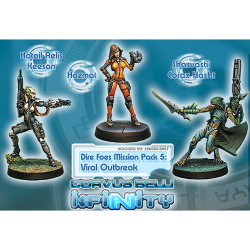 Infinity Dire Foes Mission Pack: Viral Outbreak
