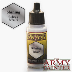 Army Painter: Warpaints Shining Silver 18ml