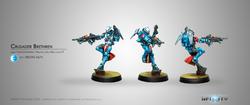 Infinity Crusader Brethren (Multi Rifle + Light FT) - PanOceania