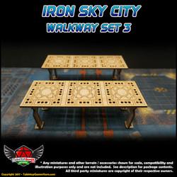 Iron Sky City Walkway Set C