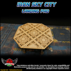 Iron Sky City Landing Pad