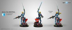 Infinity Jeanne D'arc (Multi Rifle) - Panoceania