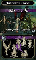 Malifaux The Queen's Return - Neverborn - M2E