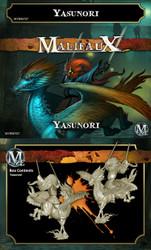 Malifaux Yasunori - Ten Thunders - M2E