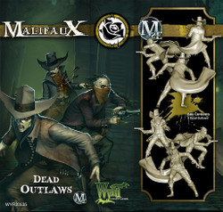 Malifaux Dead Outlaws - Outcasts - M2E
