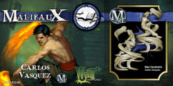 Malifaux Carlos Vasquez - Arcanists - M2E