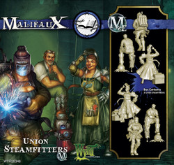 Malifaux Union Steamfitters - Arcanists - M2E