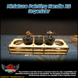 TTG Modular Miniature Painting Handle X5 Organizer